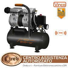 Compressore elettrico silenziato compatto portatile Vinco 8 bar 8 LT 60702