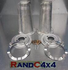 DA1186 Land Rover Discovery 1 Galvanized Front Turret Top Kit Spring Plates Ring