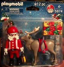 Playmobil 5874 Santa Claus & Reindeer 12 pcs
