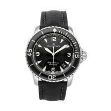 Blancpain Fifty Fathoms Automatique 45mm Steel Mens Strap Watch 5015-1130-52A