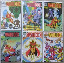 WARLOCK SPECIAL EDITION #1-6 MARVEL COMICS BRONZE AGE NM UNREAD COMPLETE SET