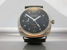 Panerai Radiomir 10 Days GMT Automatic 18K White Gold 45mm PAM 496 New !