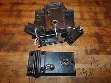 Mallory Wheeler & Co. Cast Iron Rim Lock & Strike Plate Set for Farmhouse