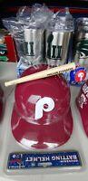 Vintage Philadelphia Phillies MLB Plastic Souvenir Batting Helmet #1