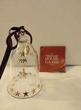 Holmegard/Royal Campanella di Natale annuale in vetro