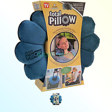Total Pillow Microbead Portable - Use at Home or on The Go to Support
