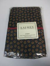 Ralph Lauren STUDIO FOULARD Navy Red Yellow 2 Standard Pillowcases