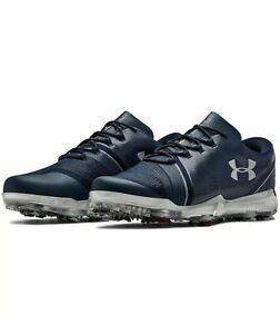 Under Armour UA Jordan Spieth 3 LE Men's Golf Shoes Cleats Navy Blue 12
