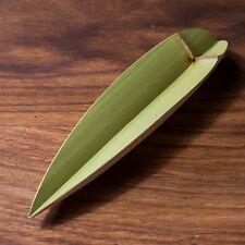 Handmade Natural Green Bamboo Gongfu Tea Scoop Leaves Presentation Vessel