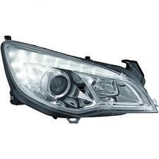 LHD Projecteur LED DRL Phare avant Paire Transparent Chrome H7 H1 pour Opel