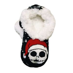Disney The Nightmare Before Christmas Slipper Socks Anti Slip Shoe Size 4-10