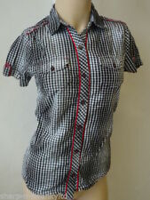 T-shirts et débardeurs noir pour fille de 2 à 16 ans en 100% coton