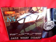 JAZZ WEST COAST Vol 4 CHET BAKER MULLIGAN LP 1958' ITALY EX First Pressing