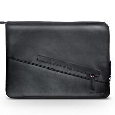 "QIALINO Genuine Leather Zipper Case Bag for iPad Pro 12.9 (2017)/12.9"" (2015)"