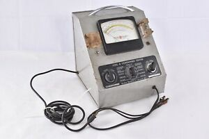 Vintage Graham Research 51-R Coil & Condenser Tester Leakage Capacity Checker