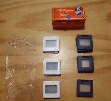 """Agfacolor """"K"""" Dia Rahmen für 24 x 36 mm 20 Stück Agfa OVP"""