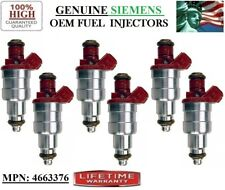 -94-95-96-97 Eagle Vision 3.3L V6 Rebuilt x6 OEM Siemens #4663376 Fuel injectors