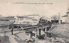 ALGECIRAS, SPAIN, 3 BRIDGES, ONE WITH A TRAIN, OVER THE RIO DE LA MIEL c 1904-14