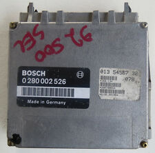 1992-95 Mercedes S500 ECU Engine Computer Unit Bosch 0 280 002 526, 013 54567 32