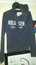 HOLLISTER HOODIE SIZE MEDIUM BLUE
