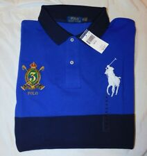 New Men's Polo Ralph Lauren S/S Big Pony & Crest Polo Shirt Size 3XL 3XB Big