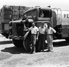 TURQUIE c. 1960 - Hommes Camions Route d'Izmir Kilyos - Négatif 6 x 6 - Tur 82
