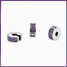 Pandora Shining Elegance Clip, Fancy Purple CZ, Sterling Silver 791817CFP