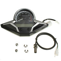 Motorcycle Bike LCD Digital Speedometer Odometer Tachometer Gauge RMP MPH KMH US