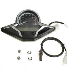 Motorcycle Bike LCD Digital Speedometer Odometer Tachometer Gauge RMP MPH KMH US