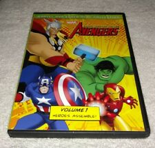 The Avengers: Earth's Mightiest Heroes, Vol. 1 (DVD, 2011) *RARE opp