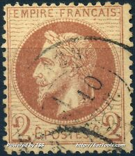 FRANCE EMPIRE N° 26 OBLITERATION CACHET A DATE