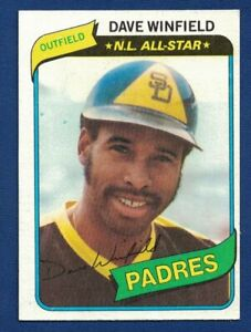 1980 Topps Dave Winfield N.L. All Star Padres #230