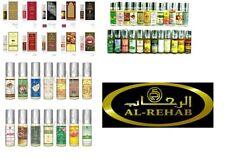 Genuine Al Rehab 6ml Attar Oil Perfume Fragrance Roll On Halal Alcohol Free