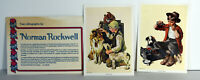 Lot 8 Vintage Lithographs Prints Saturday Evening Post Currier Ives Seasons