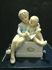"Reflections, Handpainted Royal Doulton England 1987 ""Storytime� Hn3126"