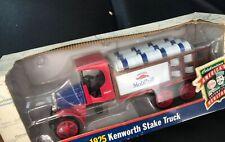 Ertl 1925 Kenworth Stake Truck - Gargoyle Mobiloil - 1/34 Scale - NIB