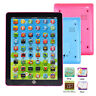 Child Kids Computer Tablet Chinese English Russian Learning Study Machine Toy