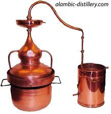 Alambic Hydraulique cuivre 30 L +Thermomètre - DESTILLE
