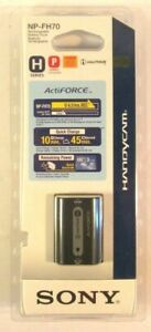 Sony Actiforce Handycam Camcorder Rechargeable Battery New OEM Genuine NP-FH70