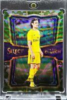 2017 Select Edinson Cavani In the Clutch Camo Prizm 10/20 PSG Man U Great Card!!