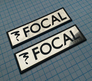 FOCAL - Metallic Badge Sticker - 2 pieces