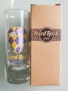 HARD ROCK RIVIERA MAYA GOLF CLUB SHOT GLASS