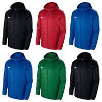 Mens Nike Dry Park Rain Coat Football Running Waterproof Windbreaker Jacket Top
