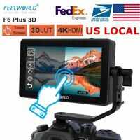 US FEELWORLD F6 PLUS 5.5 Inch 3D LUT Touch Screen 1920x1080 Camera Field Monitor