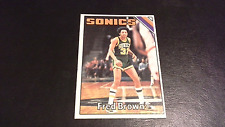 1975 Topps Basketball Fred Brown #41 Seattle Supersonics