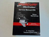 2008 Mercury MerCruiser #39 Bravo Sterndrives 8 Integrated Transom System Manual