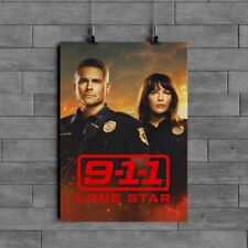 911 Lone Star TV  Poster Glossy Paper 200 gsm Size A1 A2 A3 A4 FREE POSTAGE