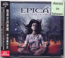 Epica: Design your Universe (2009) CD OBI TAIWAN SEALED