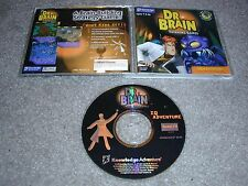 Dr. Brain Thinking Games PC CD-ROM Knowledge IQ Adventure for Windows 95/98