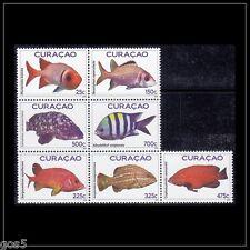 Curacao  2012   FISH     m/s     postfris/mnh us